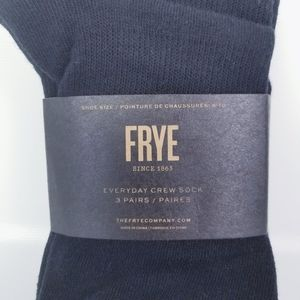 Frye 3 Pack Every Day Crew Socks Durable